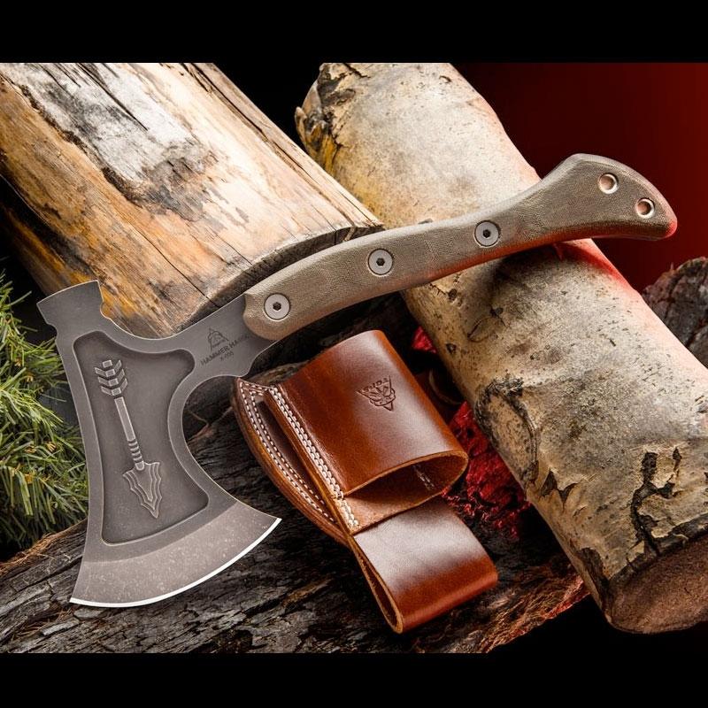 TOPS Hammer Hawk + Back-up Knife