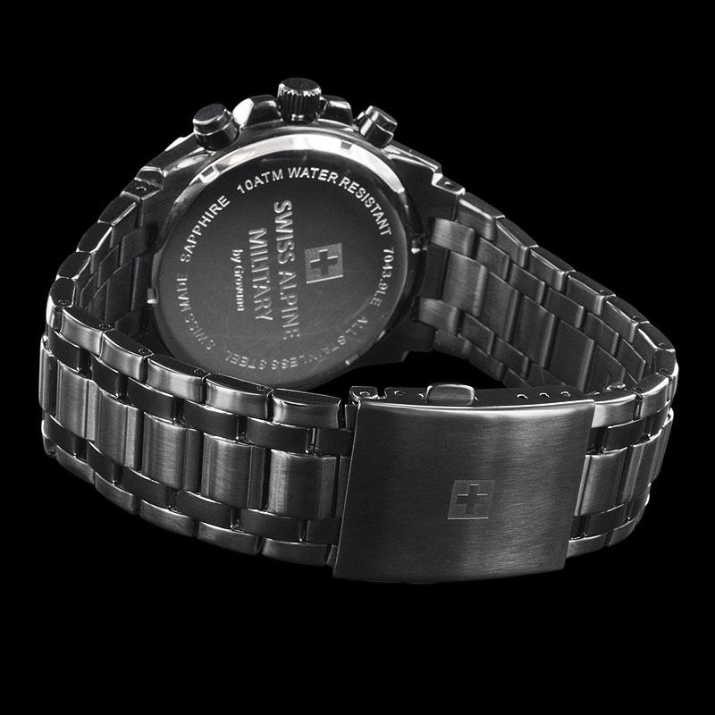 Swiss Alpine Military Chronograph Bracelet
