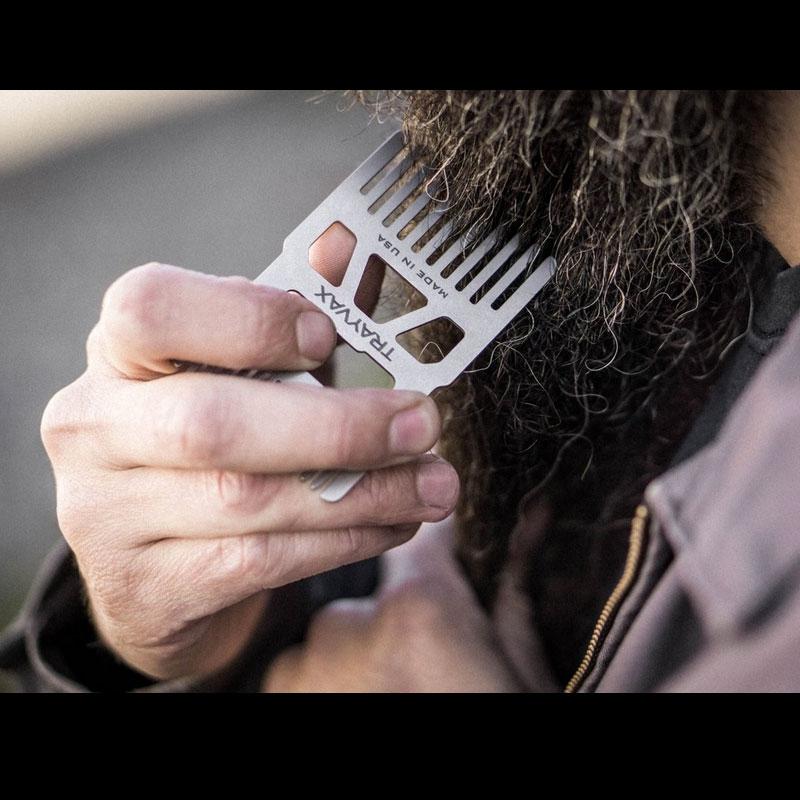 Trayvax Shift Wallet Comb