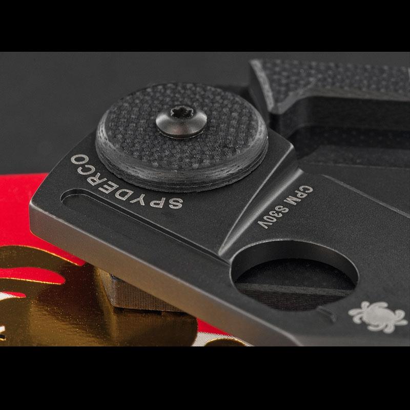Spyderco Dog Tag Carbon Fibre