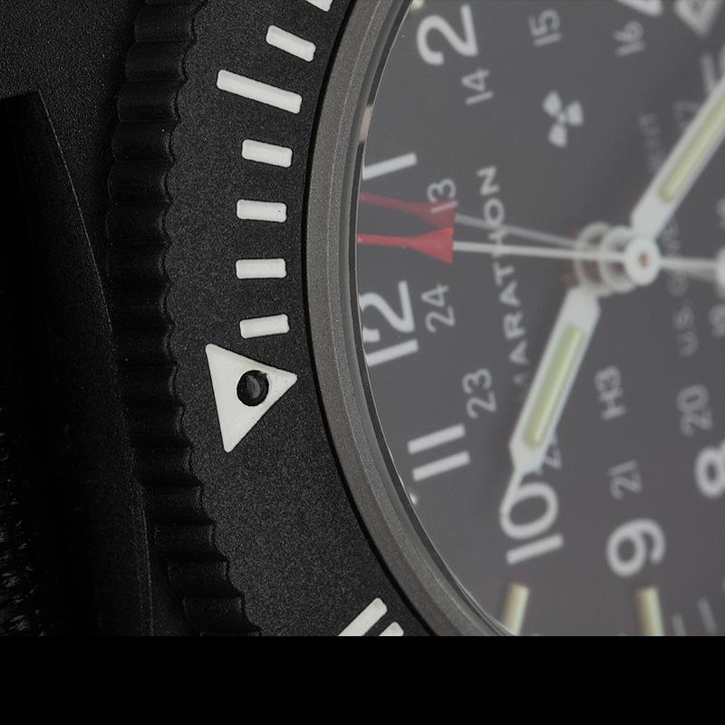 Marathon Pilot's Navigator Black with Date US Government