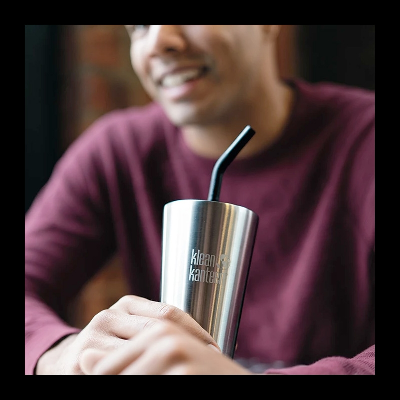 Klean Kanteen Insulated Tumbler 473ml with Straw Lid