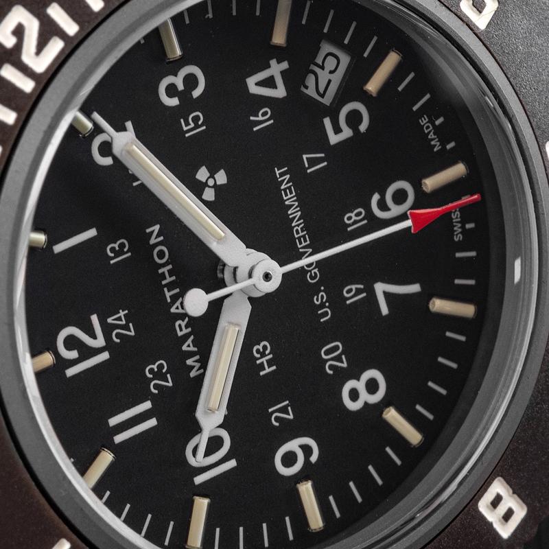 Marathon Pilot's Navigator Sage with Date US Government