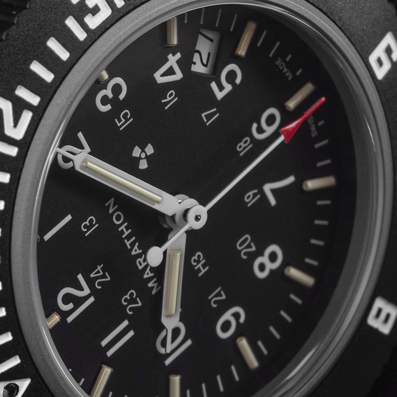 Marathon Pilot's Navigator Black with Date NGM