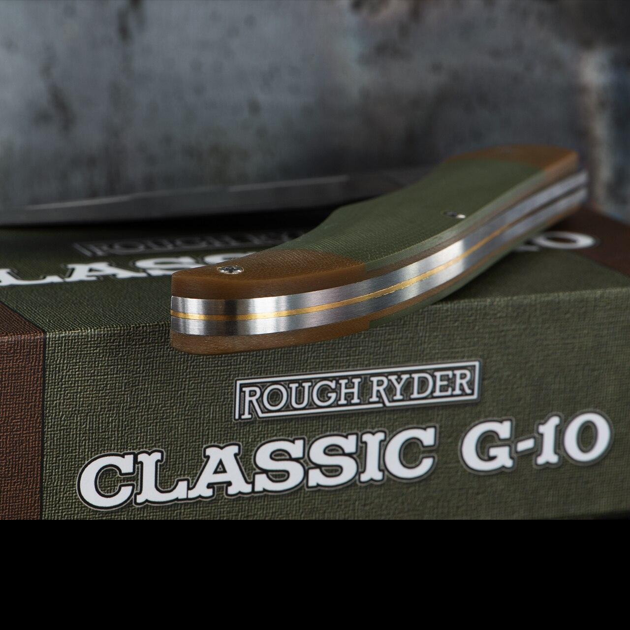Rough Rider Classic Folding Hunter G10