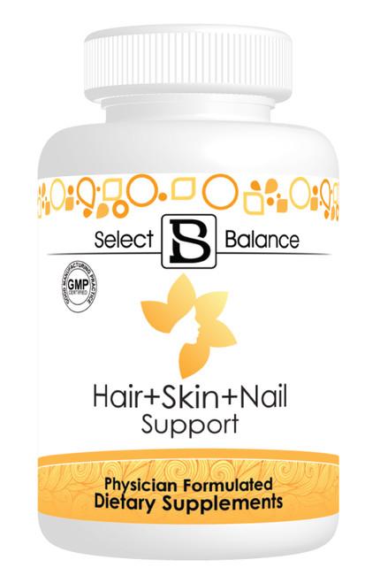 Hair, Skin & Nail Support   Select Balance Supplements