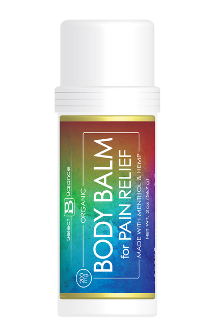 Body Balm for Pain Relief - Select Balance Products