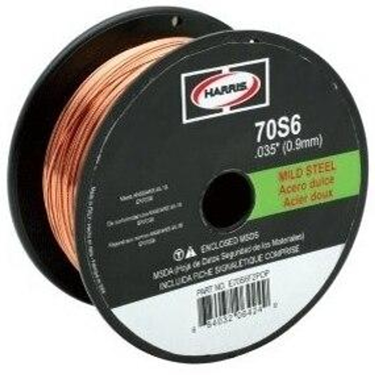 Harris ER 70S-6 MIG Welding Wire .045 on 11 lb Spools
