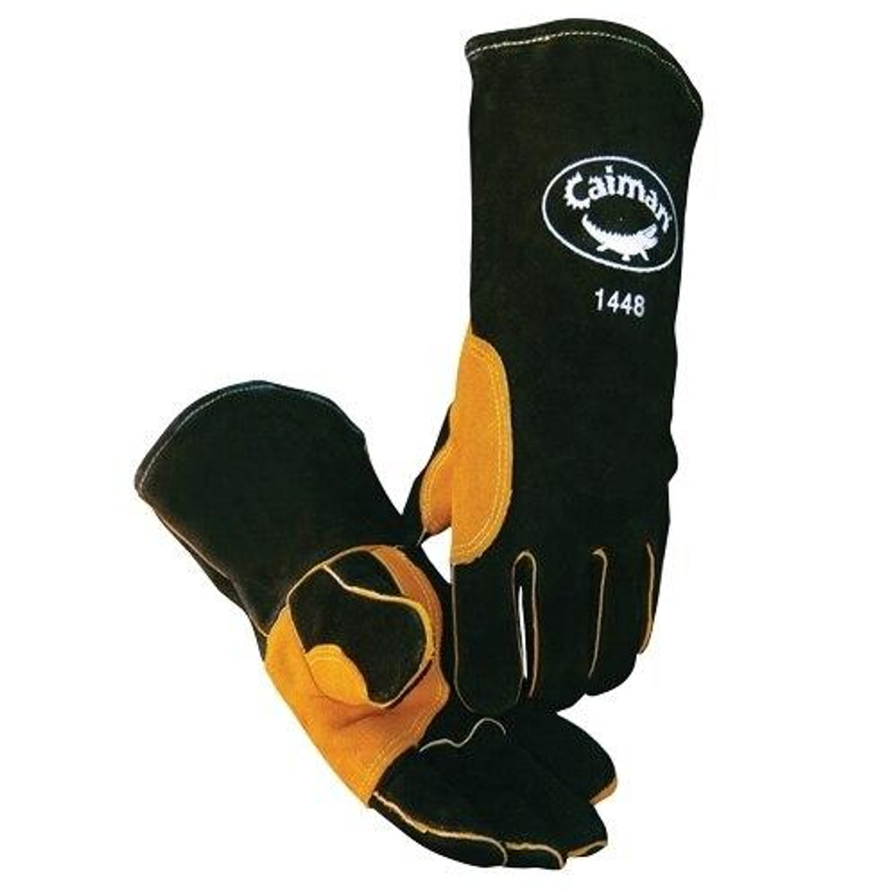 Caiman 1448 Natural Thumb Heatflect Premium Welding Gloves