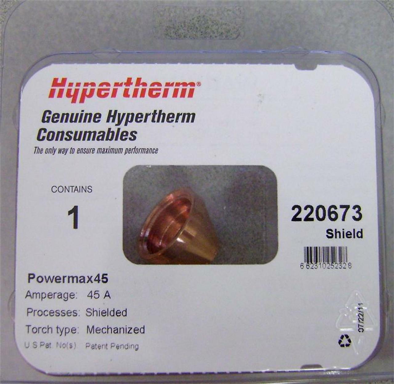 Hypertherm 220673 Powermax 45 Mechanized Cutting Shield