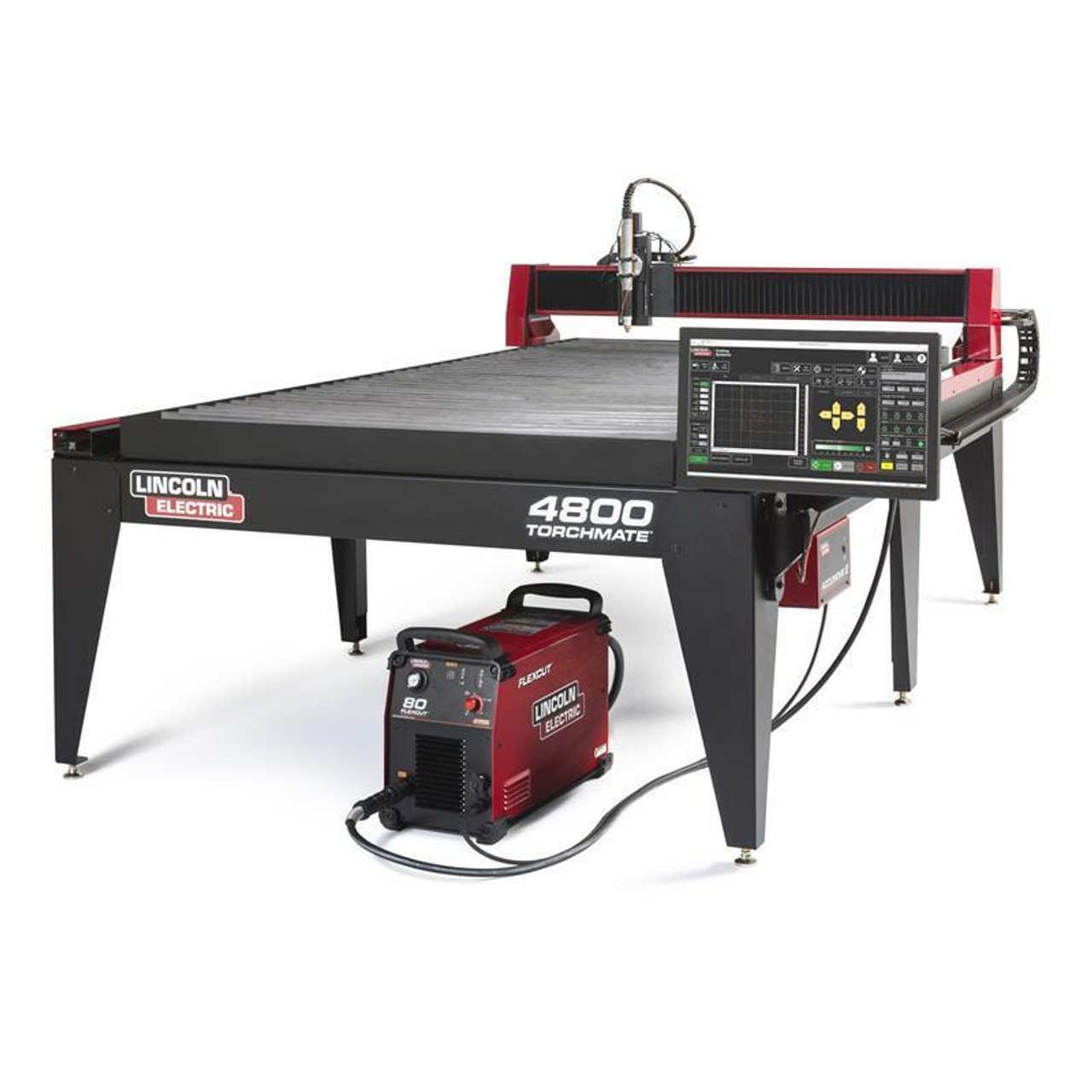 Lincoln Torchmate 4800 Fully Assembled 4x8 Plasma Cutting Table