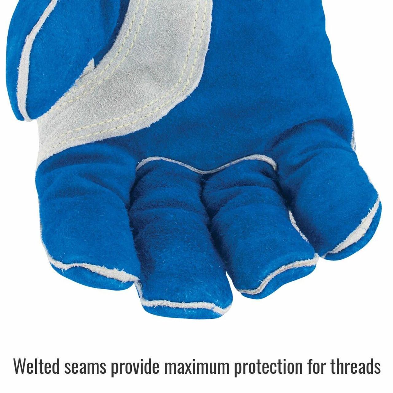 Revco Black Stallion CushionCore Quality Side Split Cowhide Stick Welding Gloves