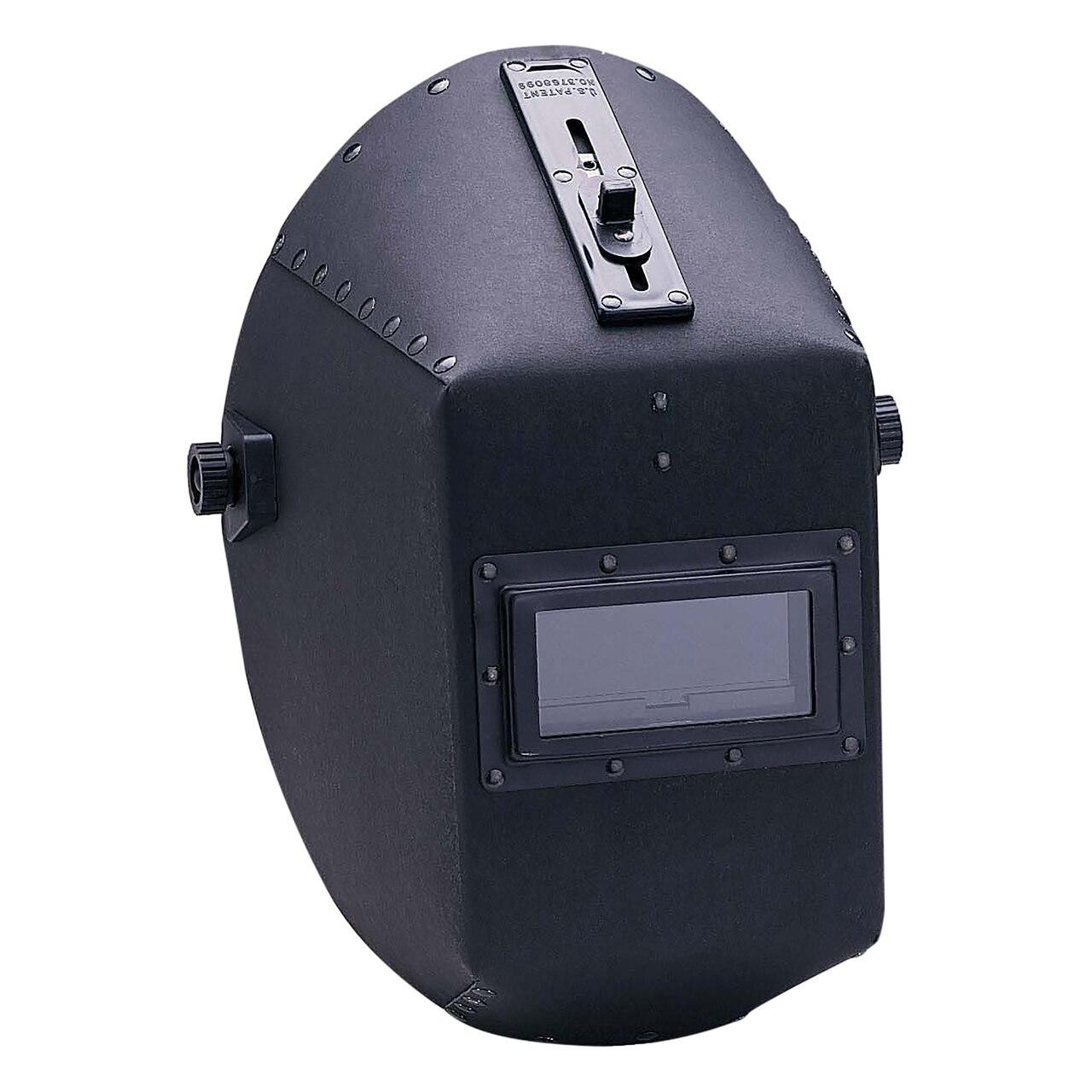 Huntsman 490P Fiber Shell Welding Helmet with Flick-of-the-finger Quick Slide Glassholder