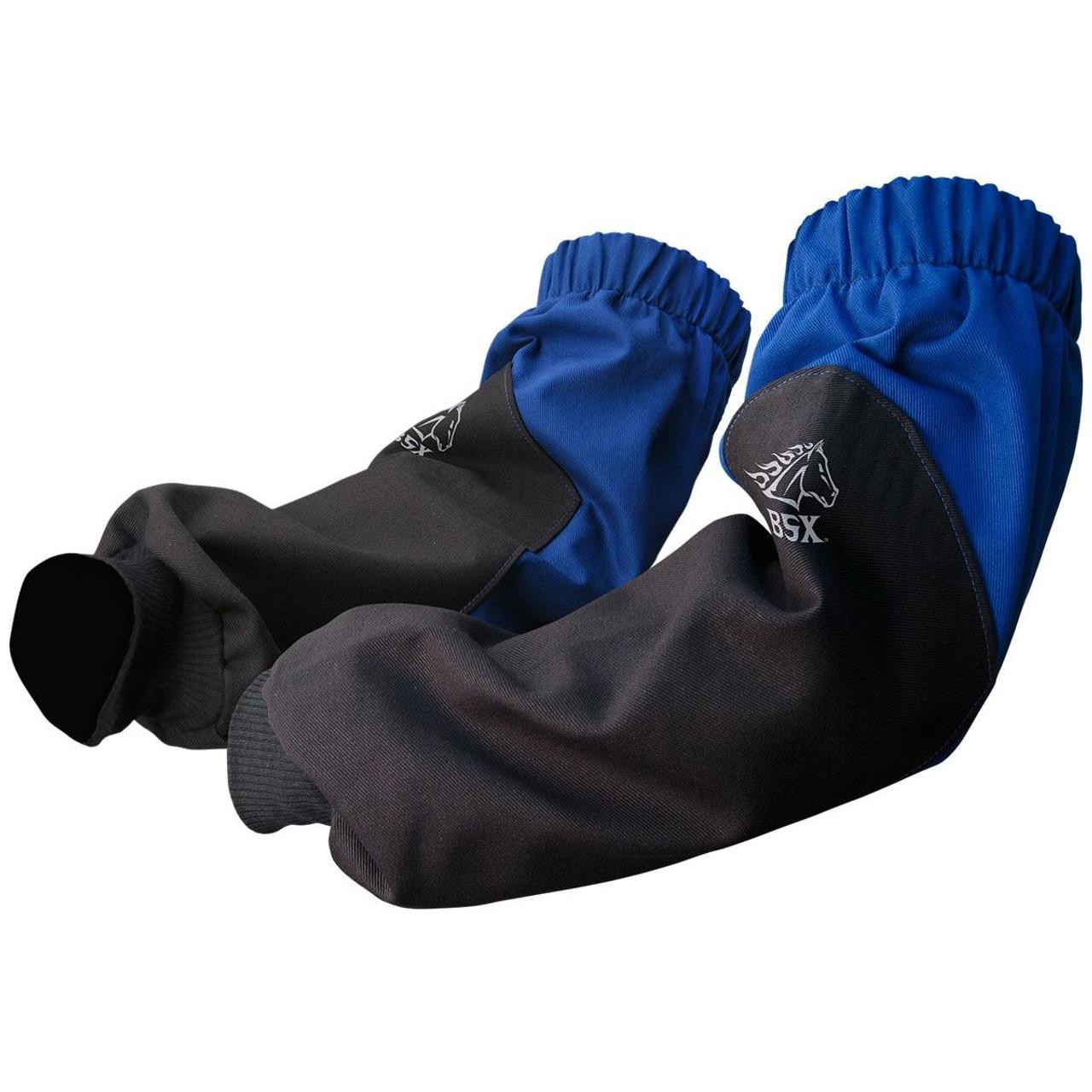 Revco Black Stallion Xtenders Flame Resistant Blue Cotton Sleeves