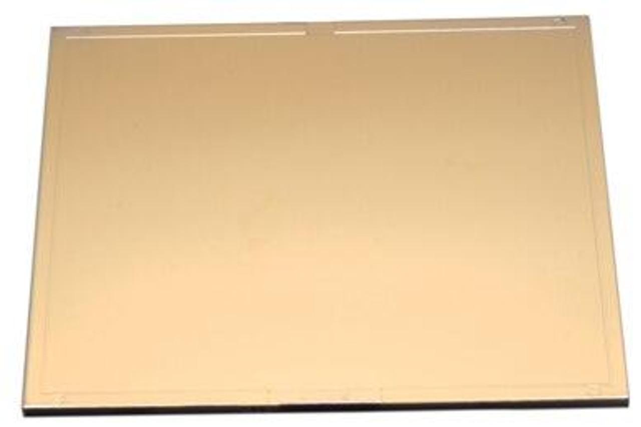 Harris Shade 11 Welding Helmet Gold Filter Plate Lens 4.5 x 5.25