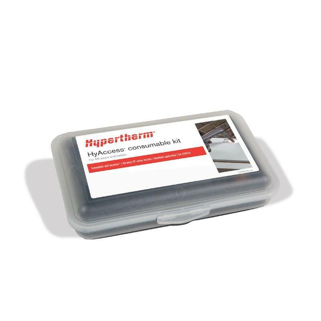 Hypertherm Genuine Powermax 65 HyAccess Handheld Consumable Kit 428414