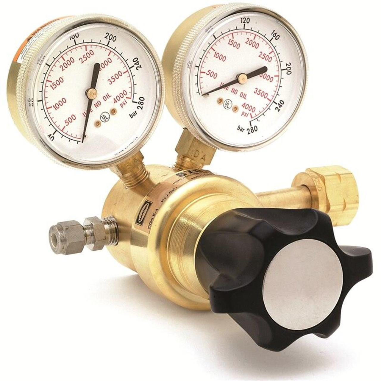 Harris Model 8700-2500-590 Industrial Air Ultra High Delivery Pressure Regulator - 3200305