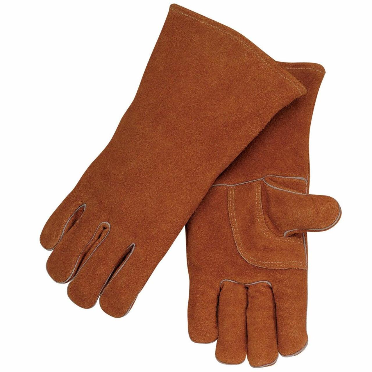 Revco Black Stallion Model 115 Split Cowhide Stick Welding Glove with Palm Guard