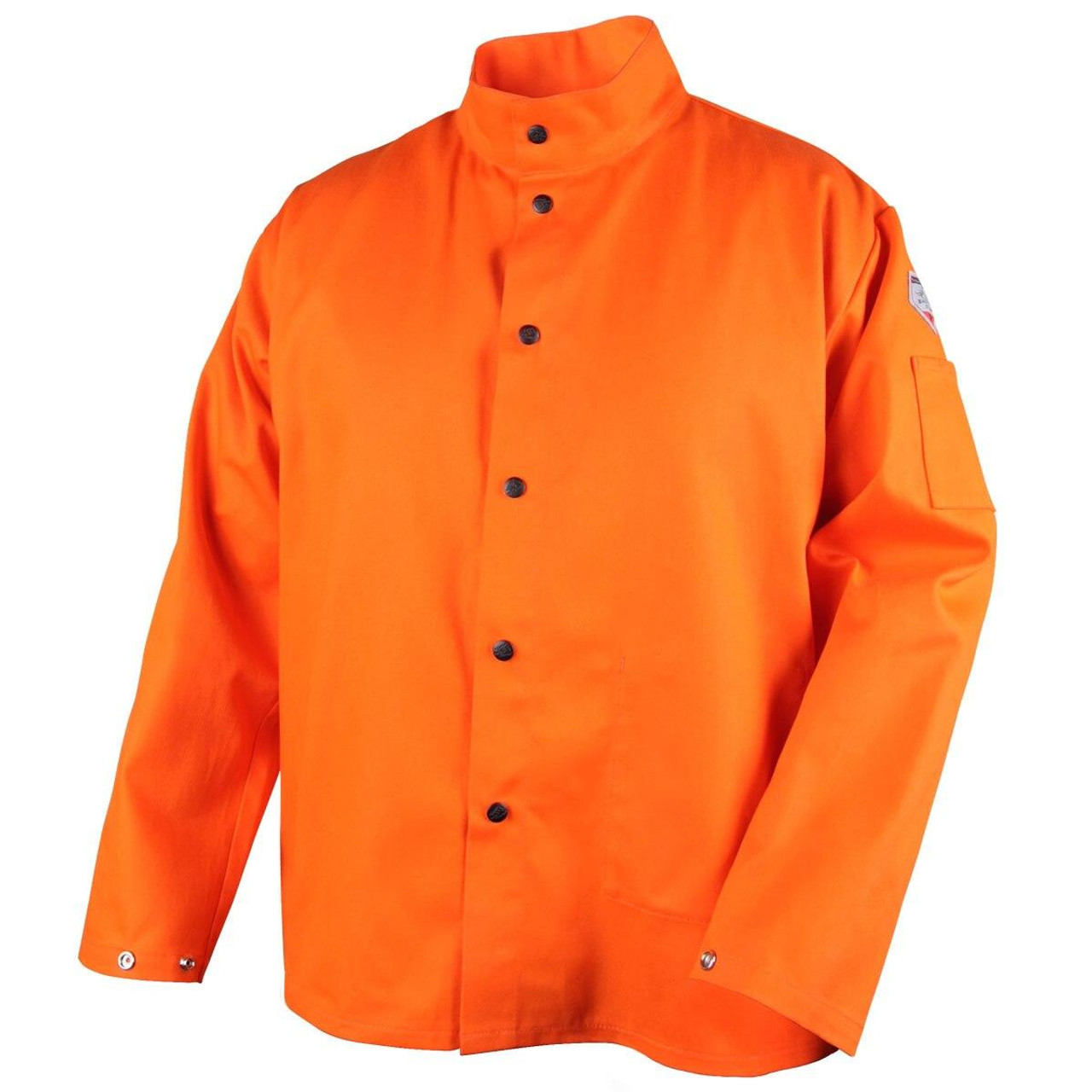 Revco FO9-30C TruGuard 200 FR Cotton Welding Jacket Orange