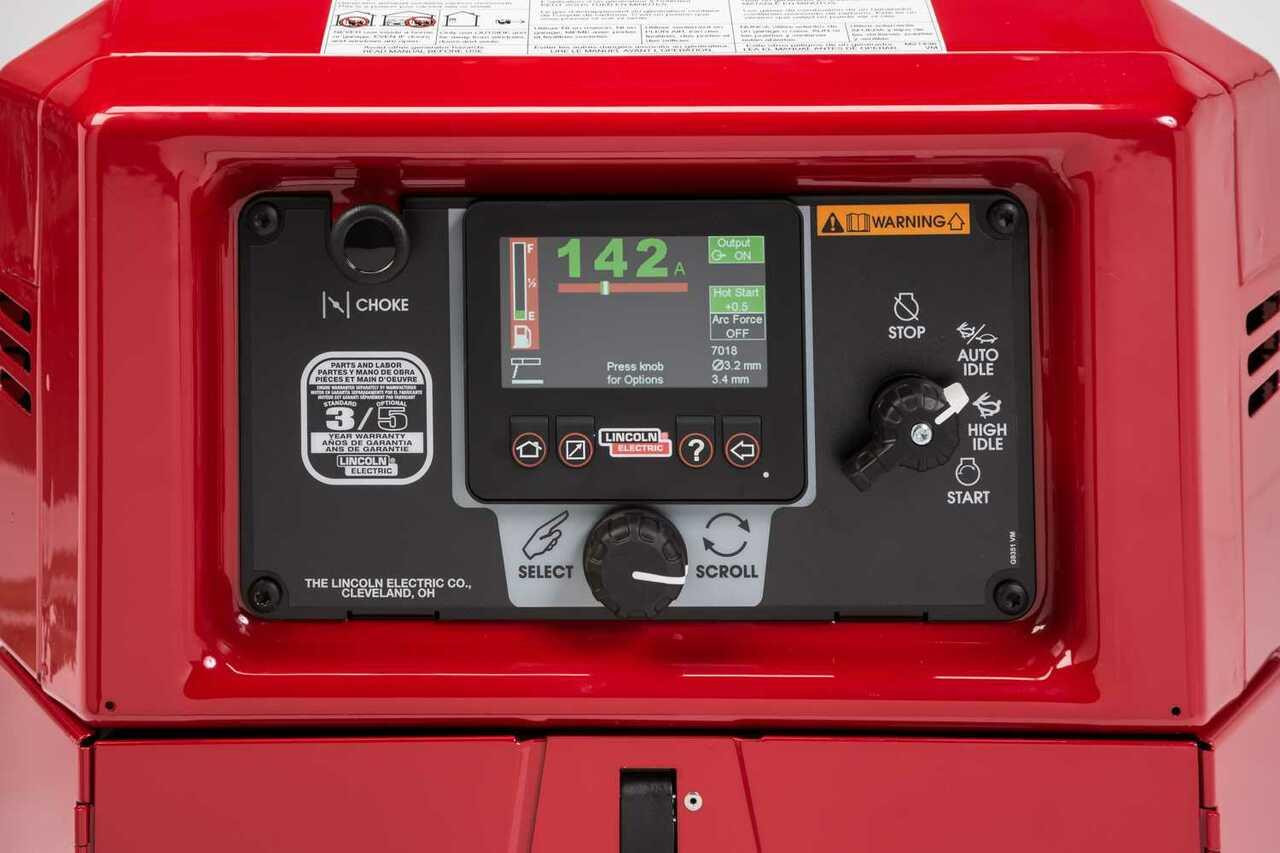 Lincoln Ranger 330MPX Engine Welder Generator w/ Free Cable Package and Cover K3459-1