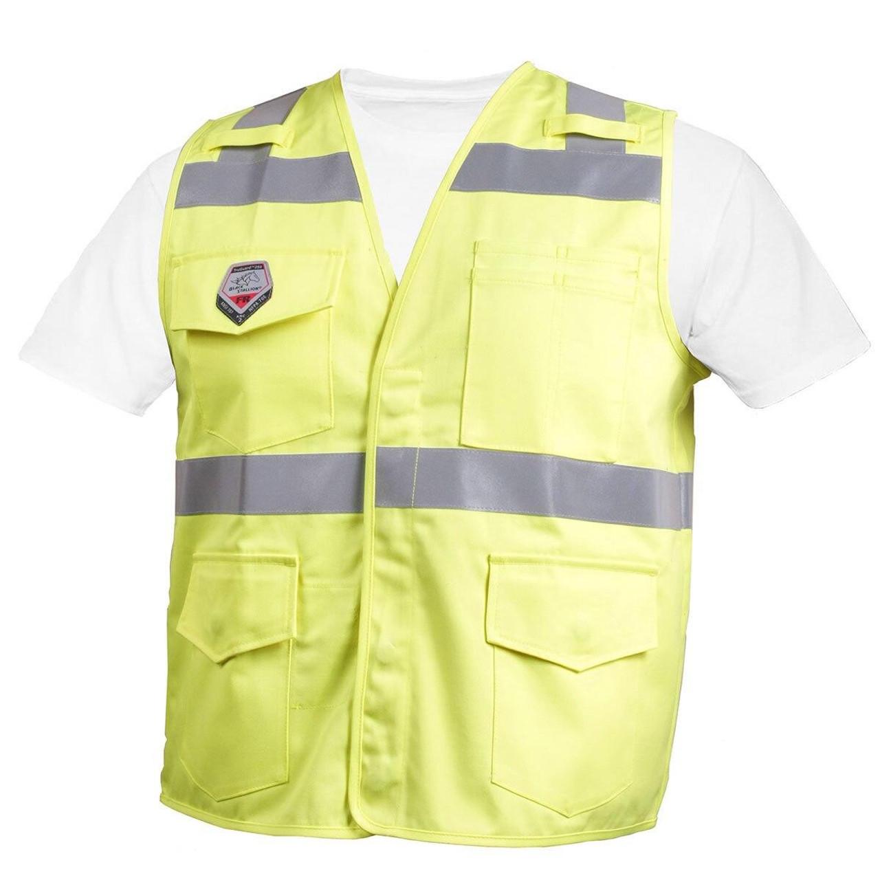 Revco Black Stallion Hi-Vis Class 2 FR Cotton Vest