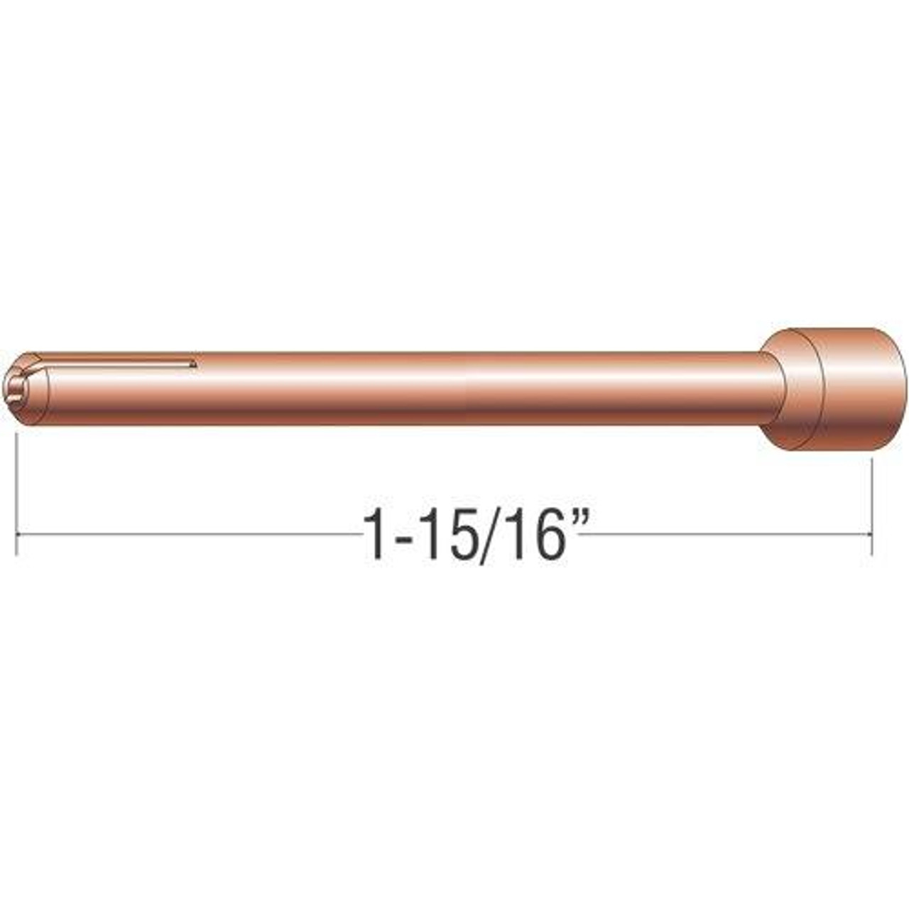 Profax 10N23 Collet 1/16 17-18-26 Series TIG Torch - 10 Pack