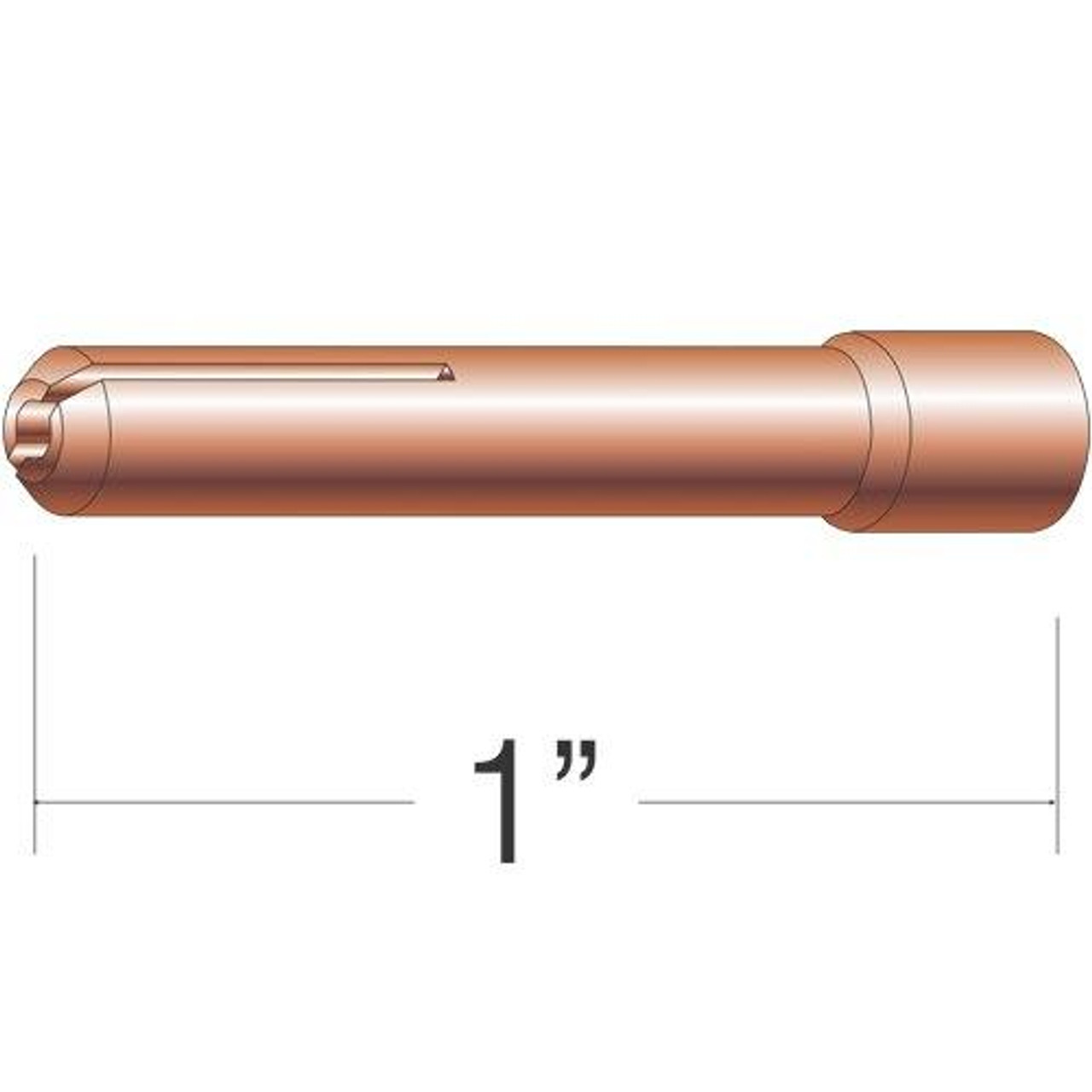 Profax 13N23 Collet 3/32 for 9-20-25 Series TIG Torches - 10 Pack