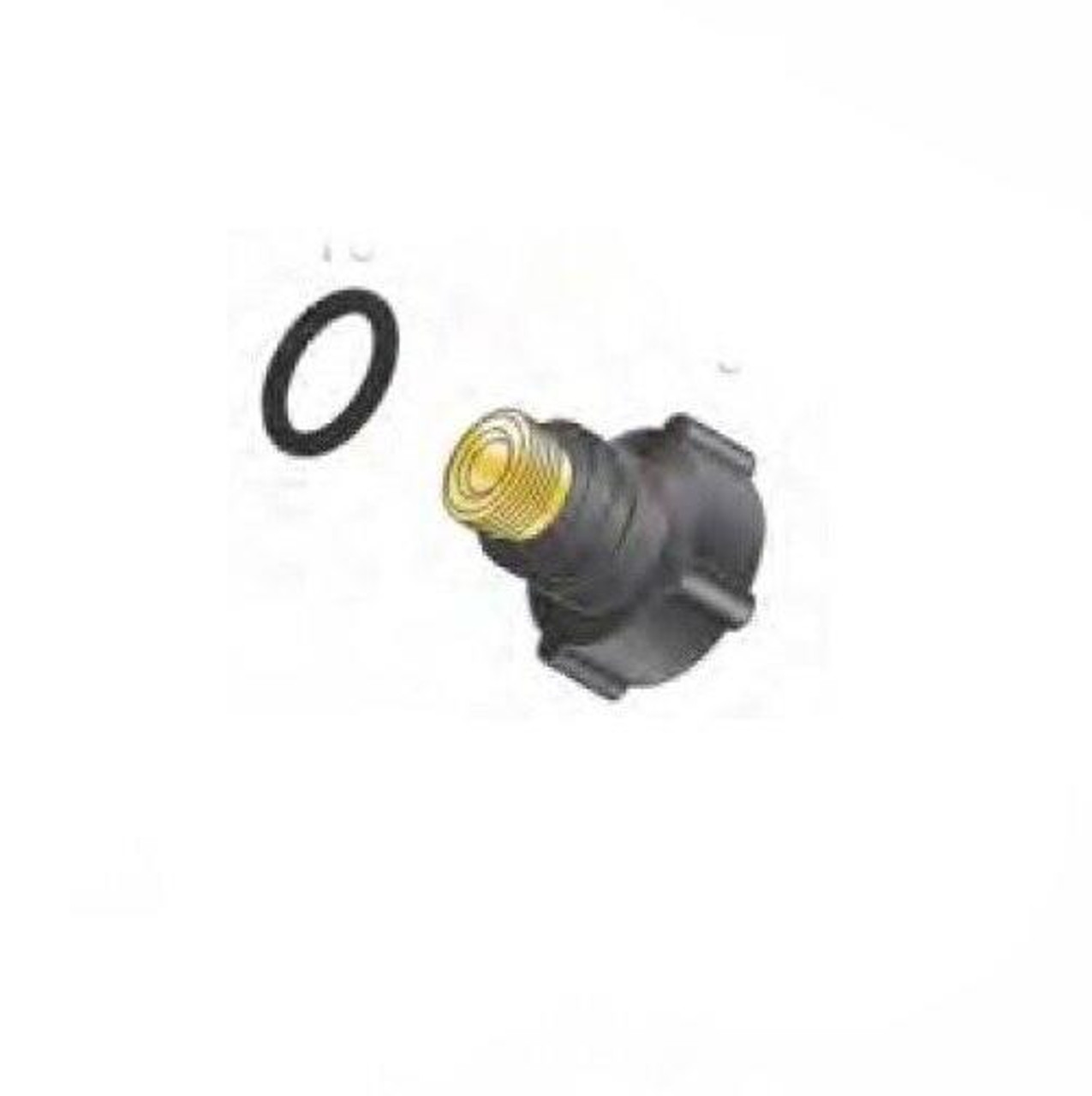 Profax 57Y04 Short Back Cap with O-Ring for 17-18-26 Series TIG Torches - 5 Pack