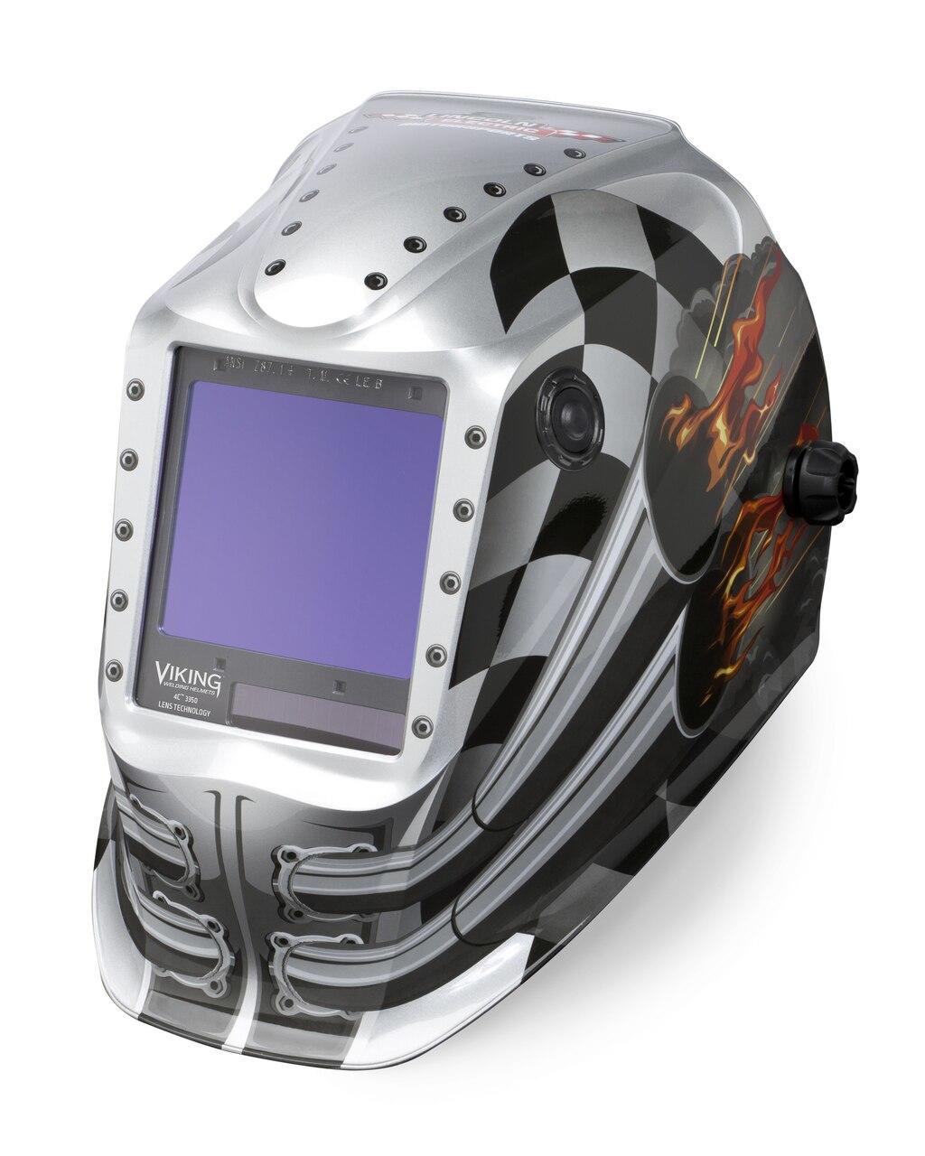 Lincoln Viking 3350 Motorhead Welding Helmet K3100-4