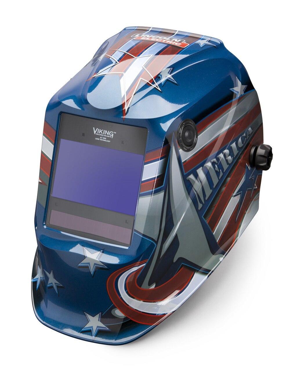 Lincoln Viking 2450 All American Welding Helmet K3174-4