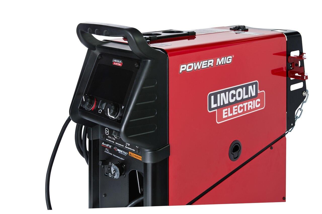 Lincoln Power MIG 360MP Multi-Process Welder Aluminum One-Pak for Trailer Mfg/Gen Fabrication K4662-1