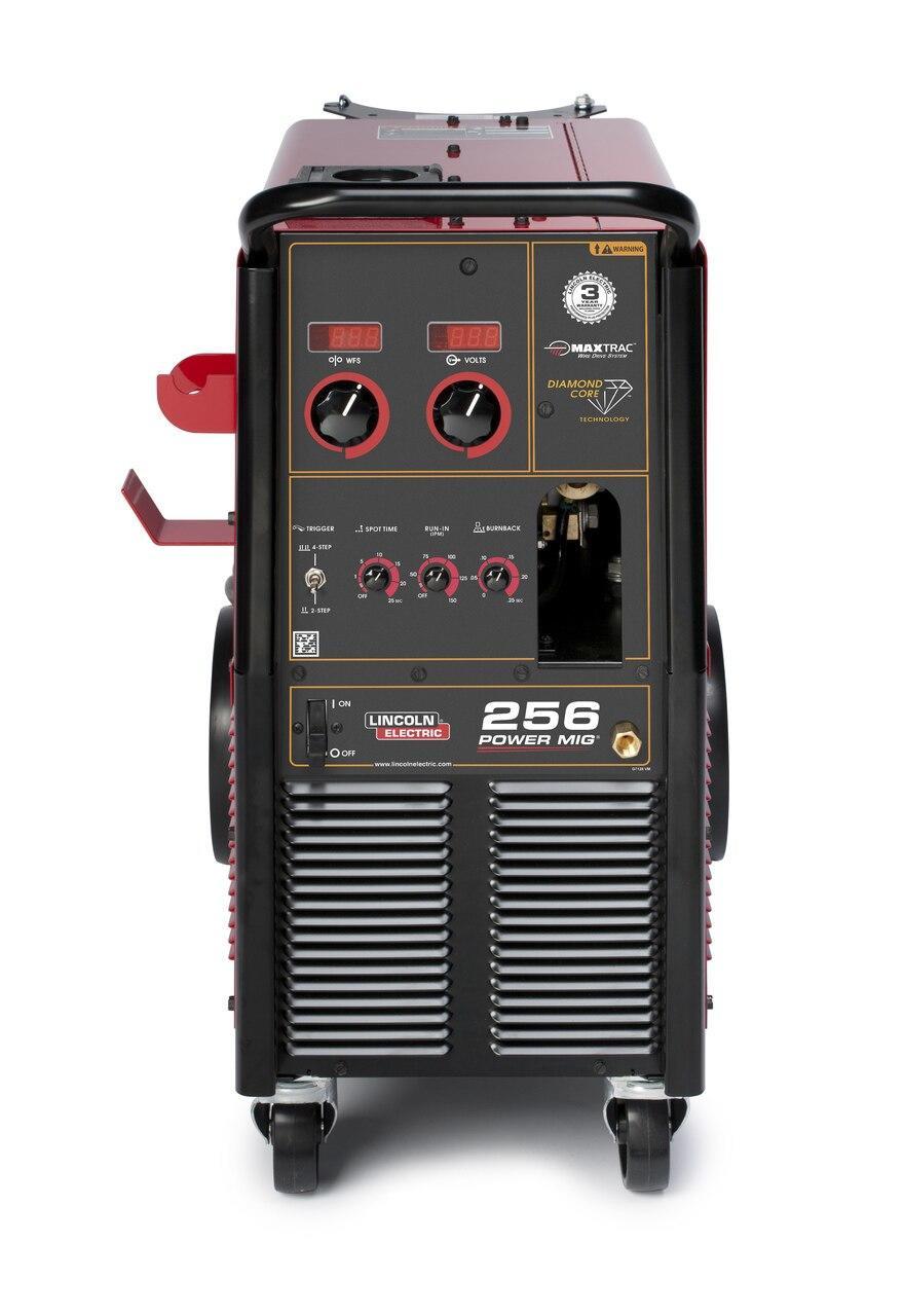 Lincoln Power MIG 256 MIG Welder One Pak w/ Spool Gun K3069-1