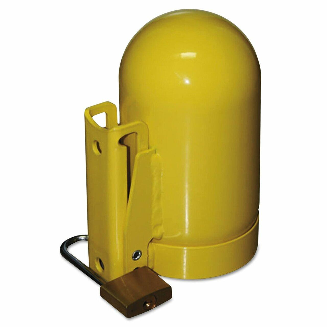 Saf-T-Cart SC8FNNP-12 Oxygen Cylinder Cap, High Pressure, 3 1/8, Steel - Made In USA