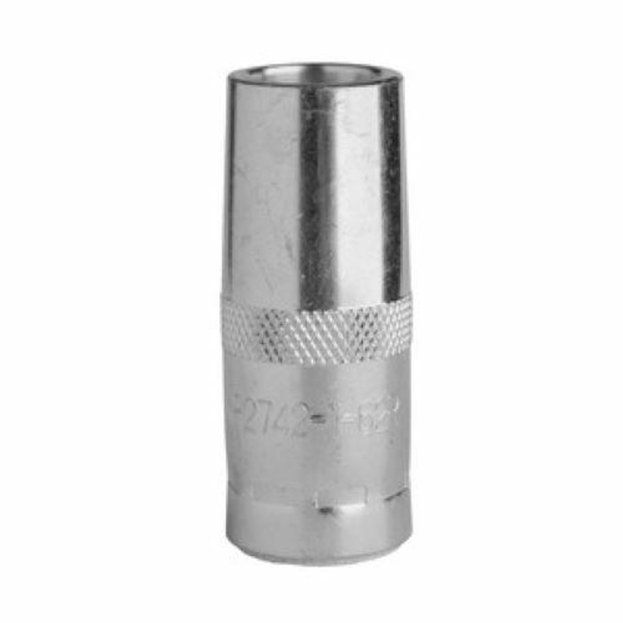 Lincoln 350A Thread-on Nozzle Flush 1/8 in 3.2 mm Recess 1/2 Inner Diameter KP2742-1-50R