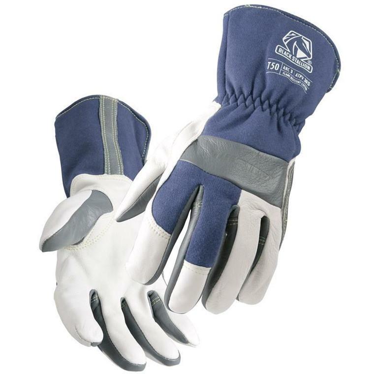 Revco Black Stallion T50 Tigster Premium Grain Goatskin and FR Cotton TIG Welding Gloves
