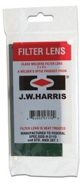 Harris Shade 10 Welding Helmet Glass Filter Plate Lens 2 x 4.25