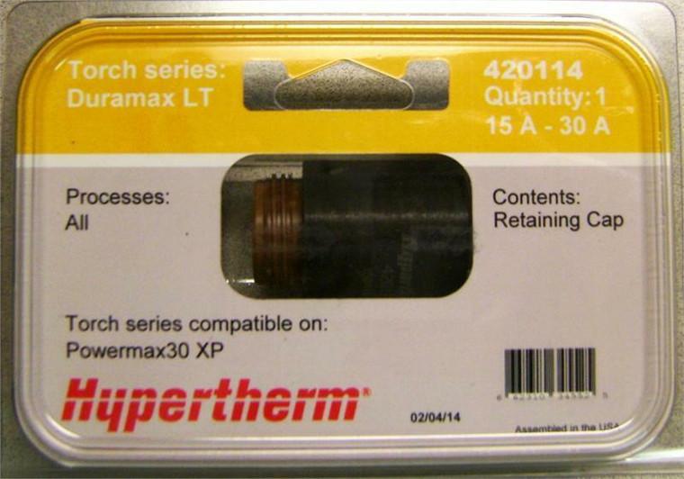 Hypertherm 420114 Powermax 30 XP Retaining Cap