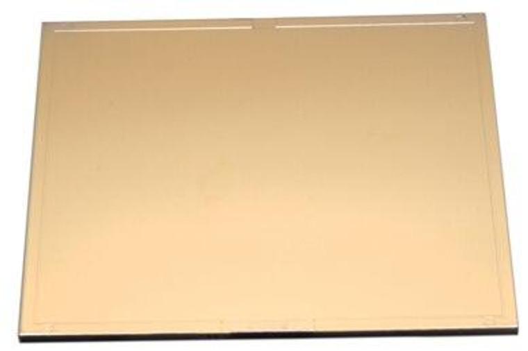 Harris Shade 10 Welding Helmet Gold Filter Plate Lens 4.5 x 5.25