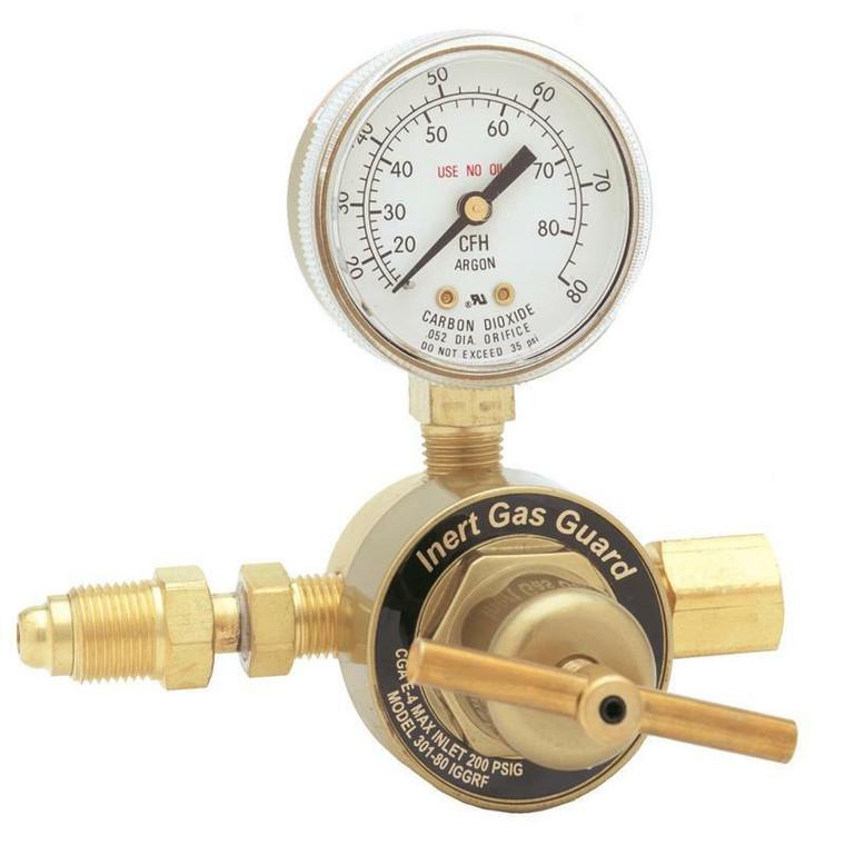 Harris Model 301 IGG Flowgauge Regulator with Inert Gas Guard for Pipeline 3000328