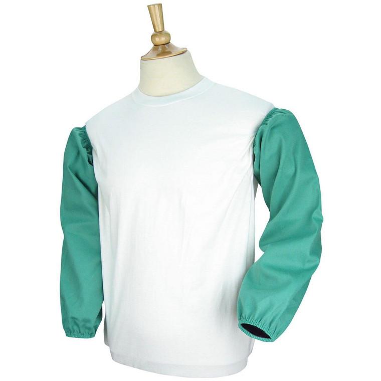 Revco Black Stallion 9 oz Flame Resistant Cotton Sleeves with Elastic - 23 Green