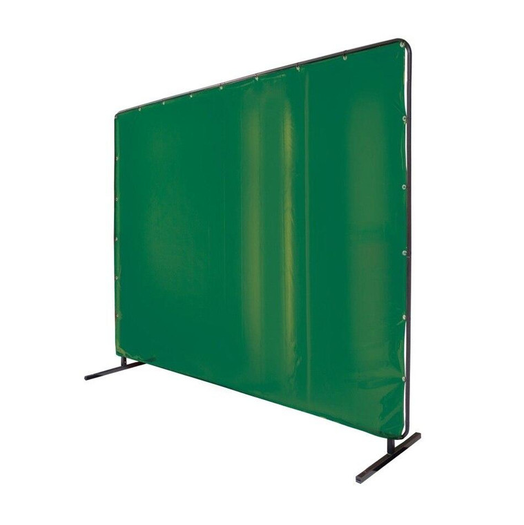 Revco Black Stallion Saf-Vu 14 mil Translucent Vinyl Green 6 x 8 Welding Screen and Frame