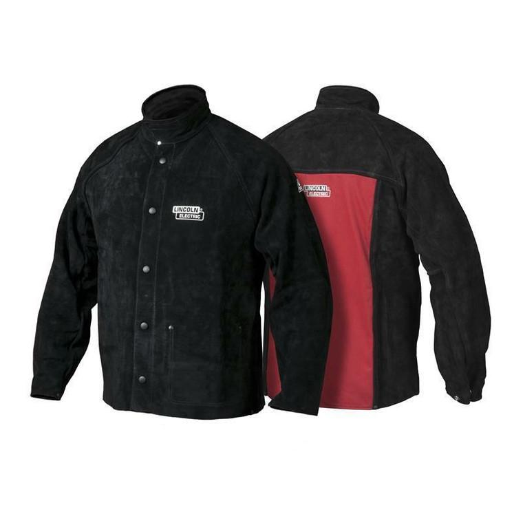 Lincoln Heavy Duty Leather Welding Jacket K2989