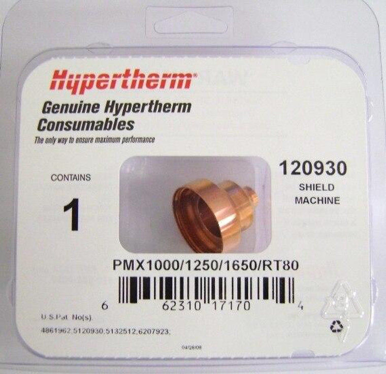 Hypertherm 120930 Powermax 1650 40-80 Amp Machine Cutting Shield