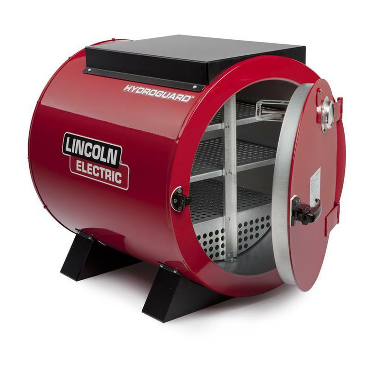 Lincoln HydroGuard Bench Welding Rod Oven 240 Volt K2942-2
