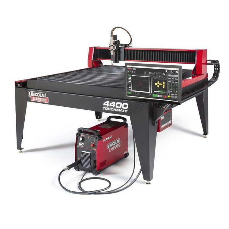 Lincoln Torchmate 4400 Fully Assembled 4x4 CNC Plasma Cutting System