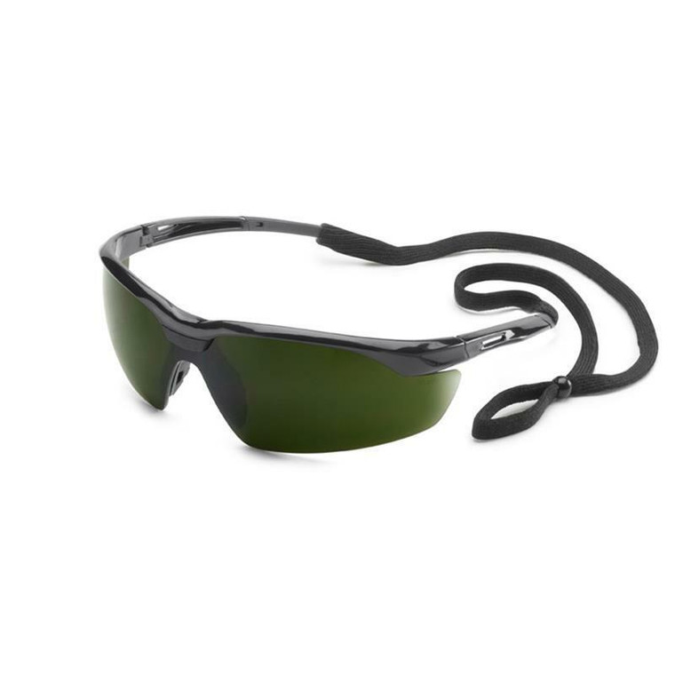 Gateway Conqueror Safety Glasses Black Frame with IR Filter Shade 5.0 Lens 28GB66