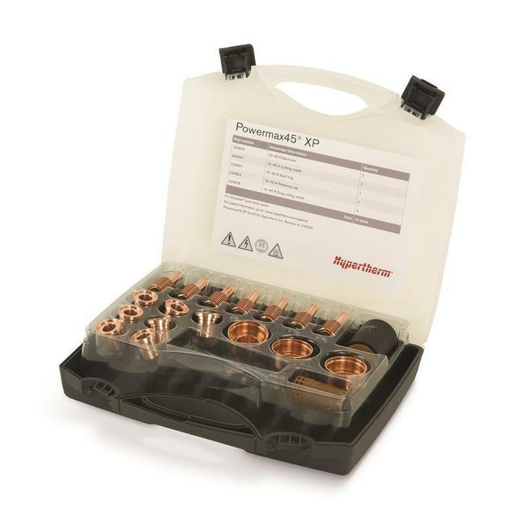 Hypertherm 851510 Powermax 45 XP Essential Handheld Cutting Consumable Kit