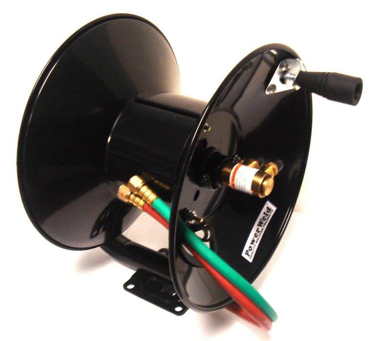 PowerWeld Oxy/Fuel Twin Welding Hose Reel MHR100