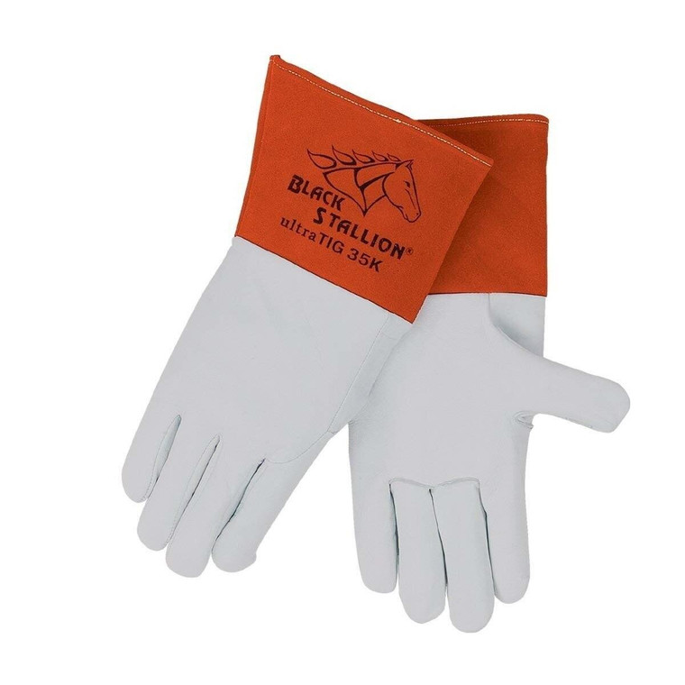 Revco Black Stallion Premium Grain Kidskin TIG Welding Glove 35K