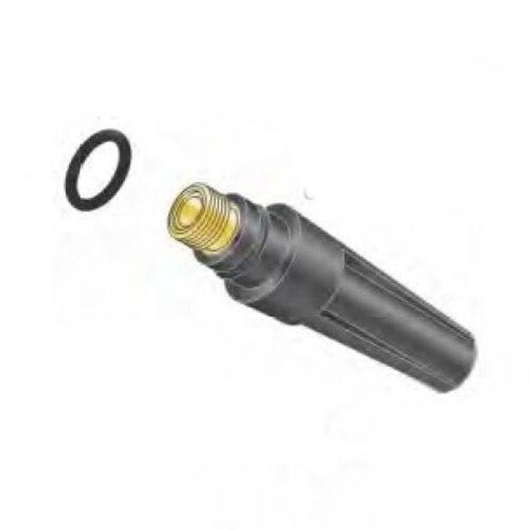Profax 300M Medium Back Cap with O-Ring for 17-18-26 Series TIG Torches - 5 Pack
